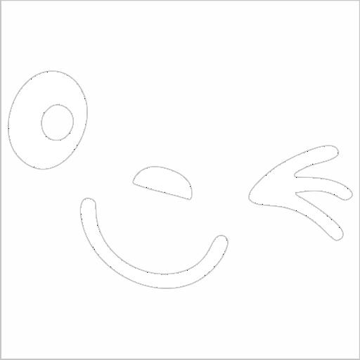 Samolepka Smajlík na zpìtné zrcátko - zvìtšit obrázek