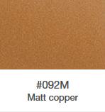 Wrap folie ORACAL 970 RA - copper mat metallic - zvìtšit obrázek