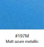 Wrap folie ORACAL 970 RA - azure metallic mat