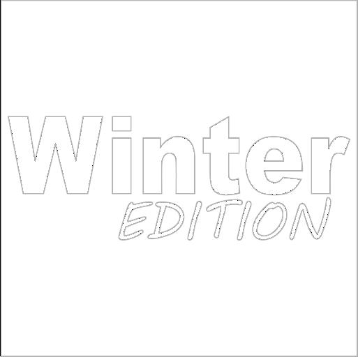 Samolepka Winter edition