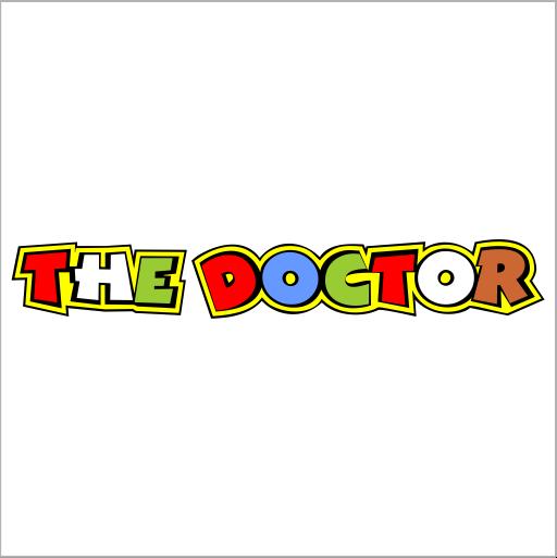 Samolepka The Doctor