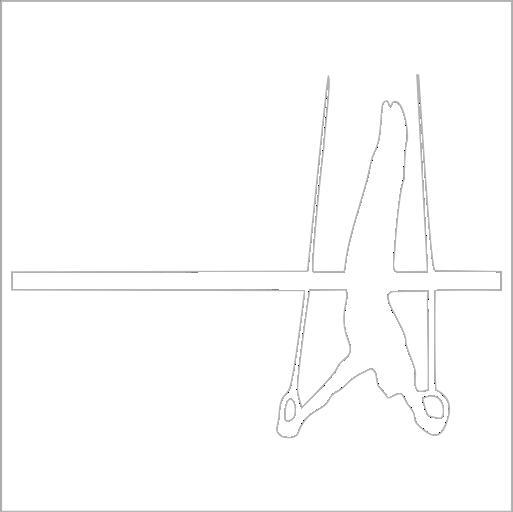 Samolepka Gymnasta - zvìtšit obrázek