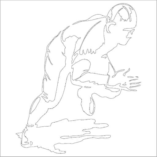Samolepka Basebalista - zvìtšit obrázek