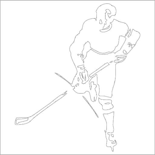 Samolepka Hokejista