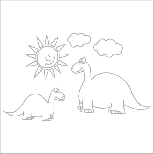 Samolepka Dinosauøi - zvìtšit obrázek