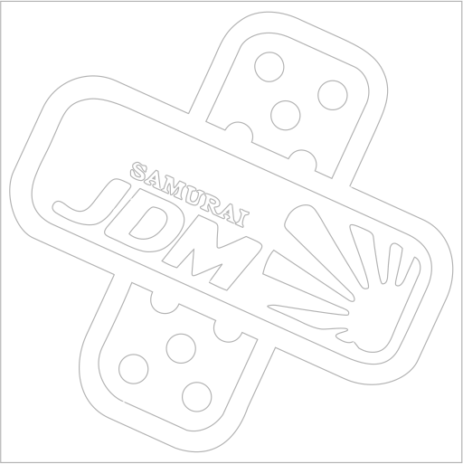 Samolepka JDM Samurai pedals - zvìtšit obrázek