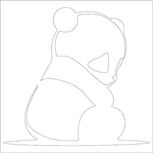Samolepka JDM Panda - zvìtšit obrázek