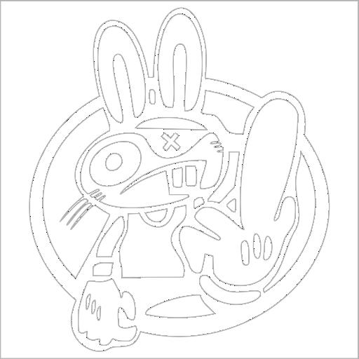 Samolepka JDM Rabbit