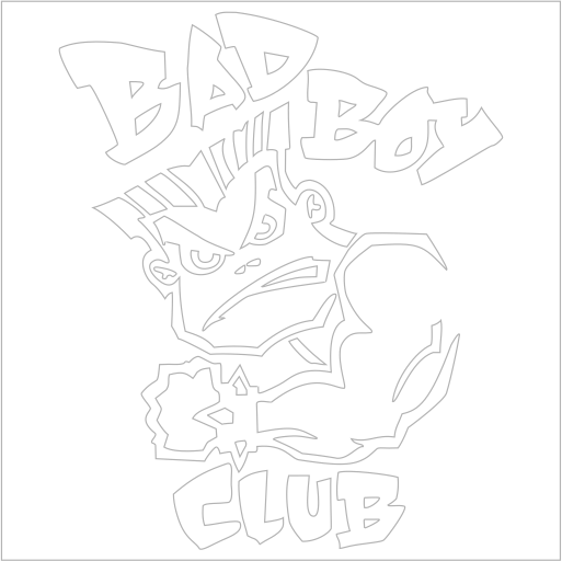 Samolepka Bad Boy Club - zvìtšit obrázek
