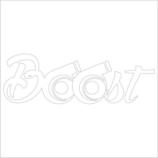Samolepka Boost Turbo - zvìtšit obrázek