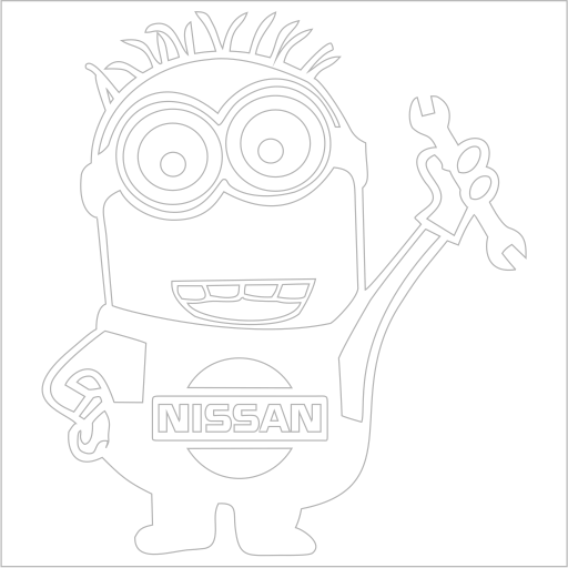 Samolepka Nissan Mimoò