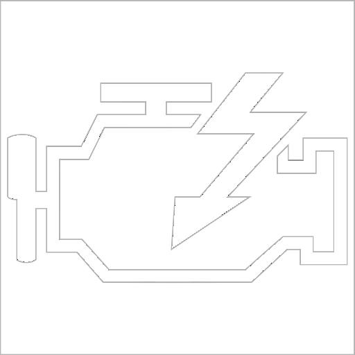 Samolepka Check Engine