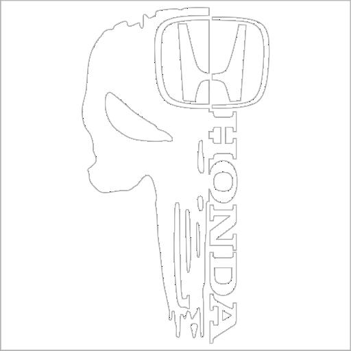 Samolepka Lebkoun Honda - zvìtšit obrázek