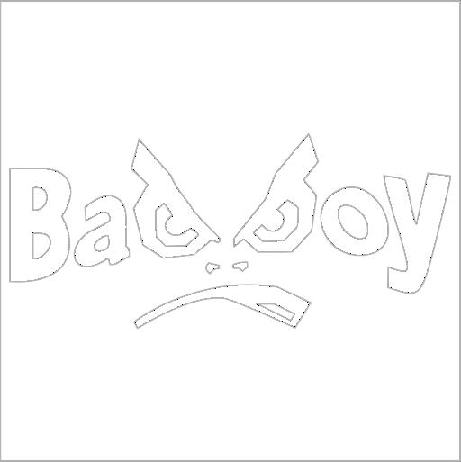 Samolepka Bad Boy - zvìtšit obrázek