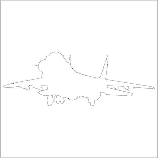 Samolepka Letadlo MIG