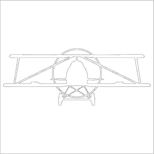 Samolepka Letadlo - zvìtšit obrázek