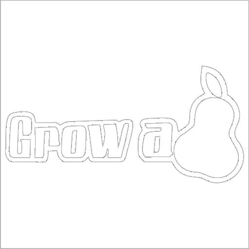 Samolepka Grow a pear - zvìtšit obrázek
