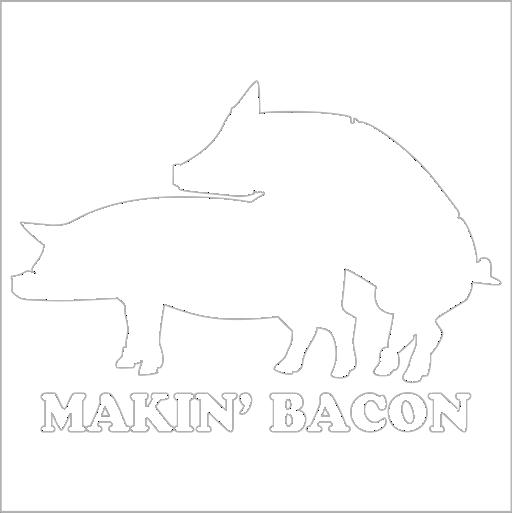 Samolepka Makin Bacon