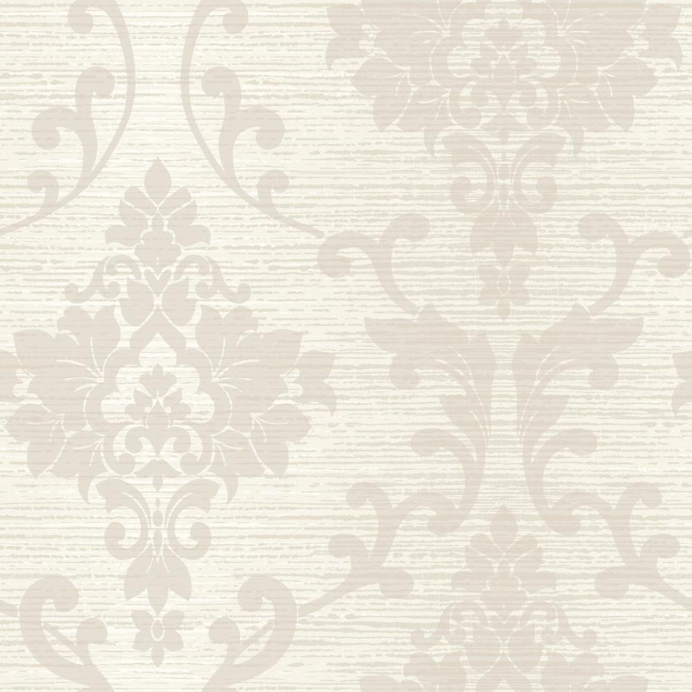 Papírová tapeta Kaluna Damask Krémová - zvìtšit obrázek