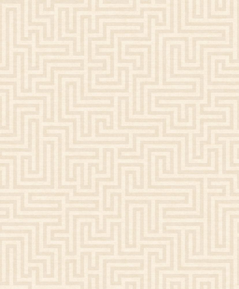 Vliesová tapeta Labyrinth Krémová - zvìtšit obrázek