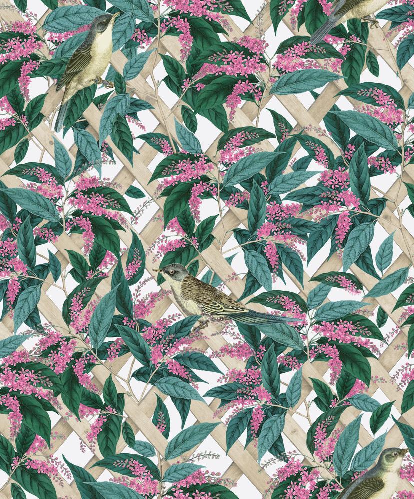 Vliesová tapeta Brassica Bílá - zvìtšit obrázek