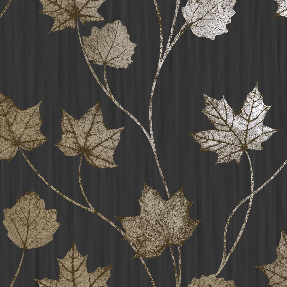 Vliesová tapeta Maple Black Èerná - zvìtšit obrázek