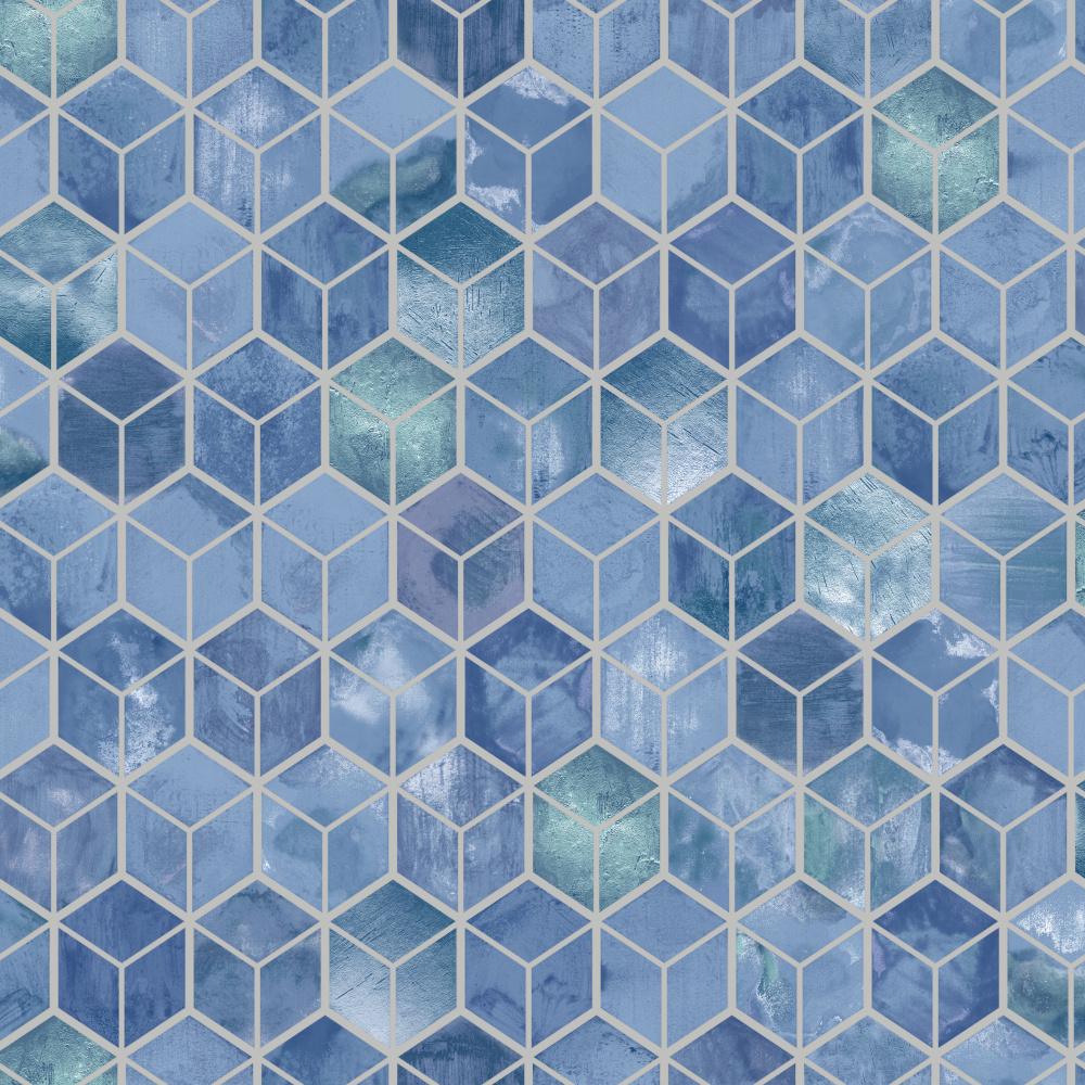 Vliesová tapeta Tafoni Navy Modrá - zvìtšit obrázek
