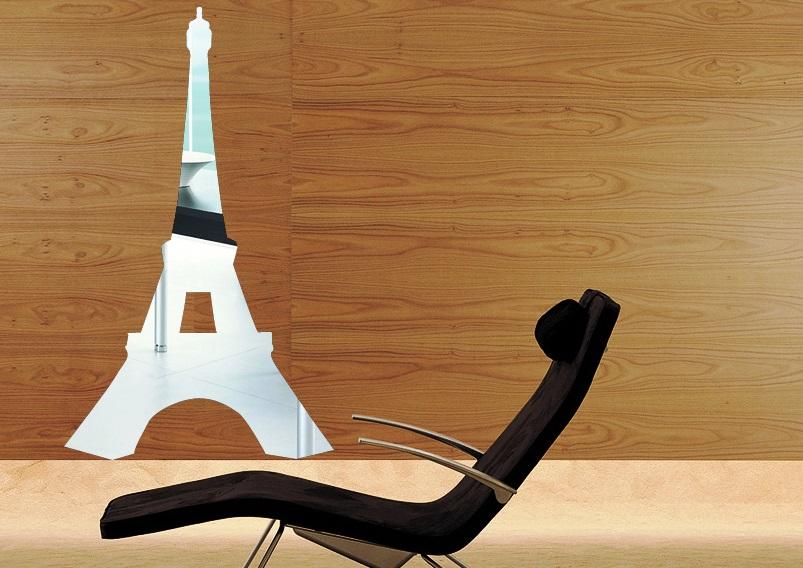 Zrcadlové samolepky Eiffelova vìž - zvìtšit obrázek