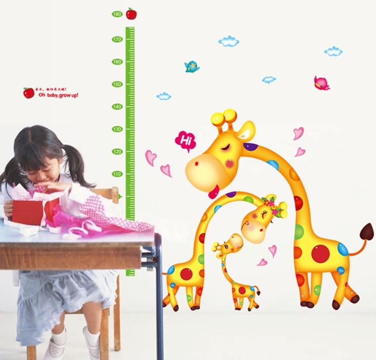 Metr na zeï Žirafí rodinka - zvìtšit obrázek