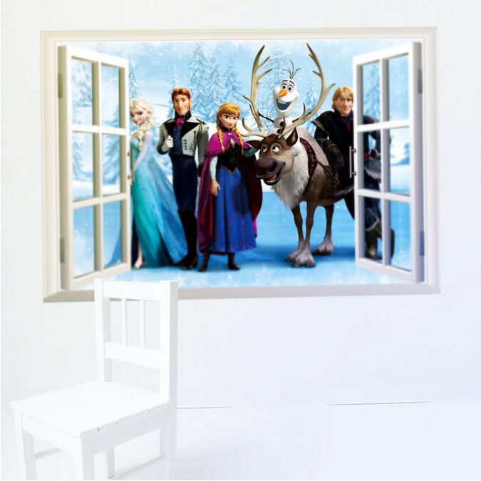 Okno do Ledového království 3D - zvìtšit obrázek