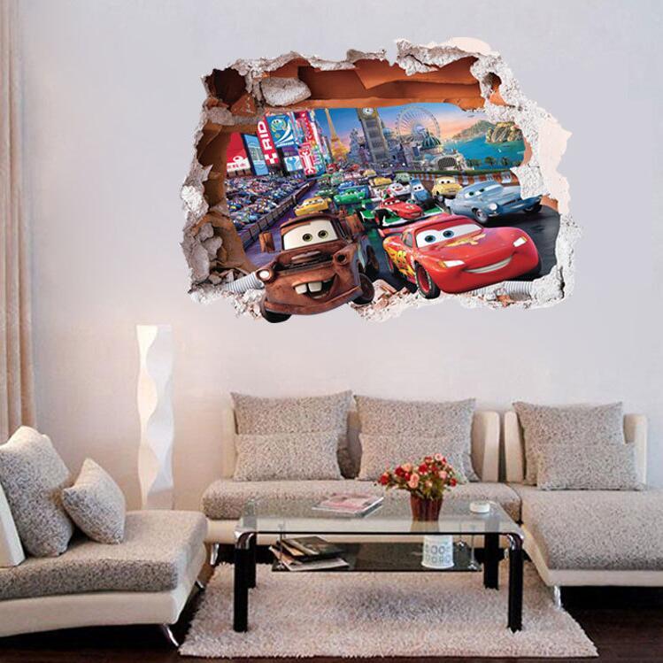 Cars - auta ve zdi 3D - zvìtšit obrázek