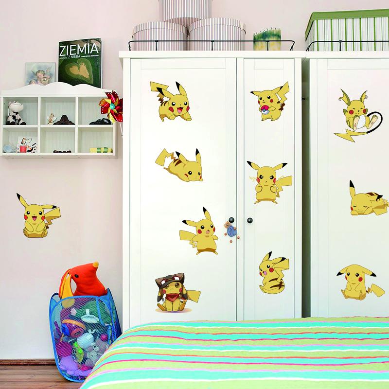 Samolepka na zeï Pikachu - zvìtšit obrázek