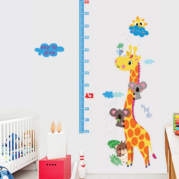 Metr na zeï Žirafa s koalami - zvìtšit obrázek