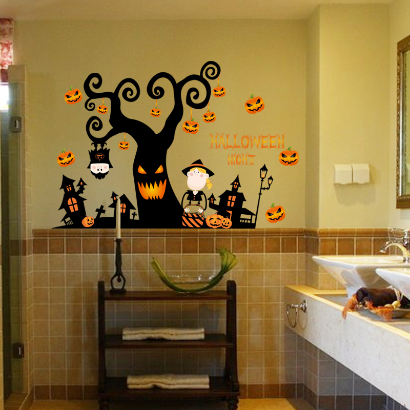 Samolepka na zeï Halloween