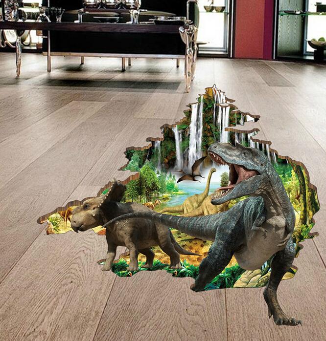 Samolepka na podlahu Dinosauøi - zvìtšit obrázek