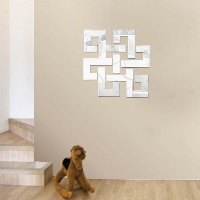 Zrcadlové samolepky Abstraktní tvar 3 - zvìtšit obrázek