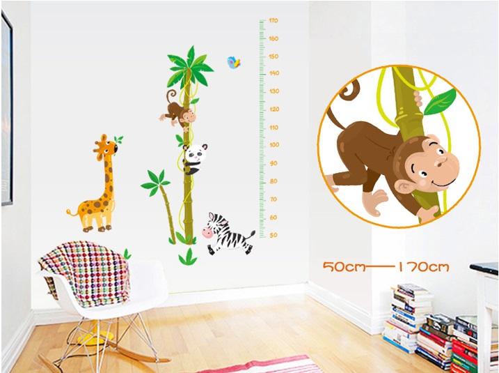 Metr na zeï Žirafa a zvíøátka - zvìtšit obrázek
