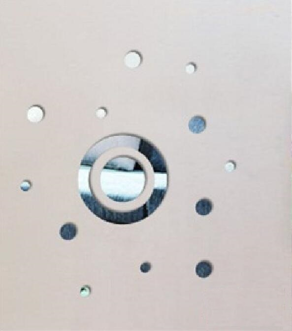 Zrcadlové samolepky Kruhy 5 - zvìtšit obrázek