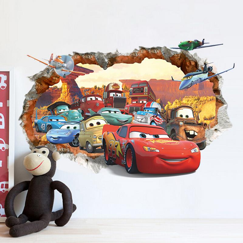 Samolepka na zeï Cars - zvìtšit obrázek