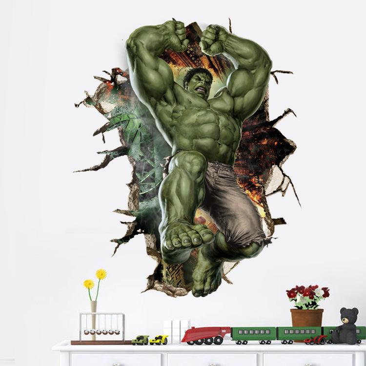 Samolepka na zeï Hulk - zvìtšit obrázek