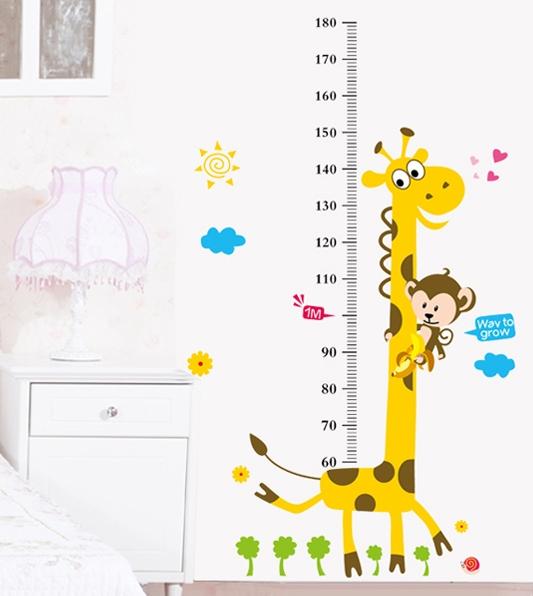 Metr na zeï žirafa s opièkou - zvìtšit obrázek