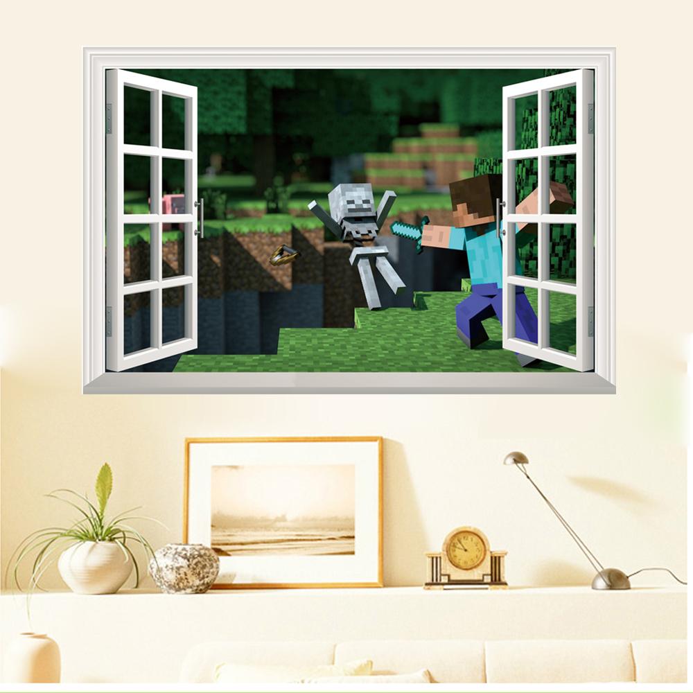 Minecraft v oknì - zvìtšit obrázek