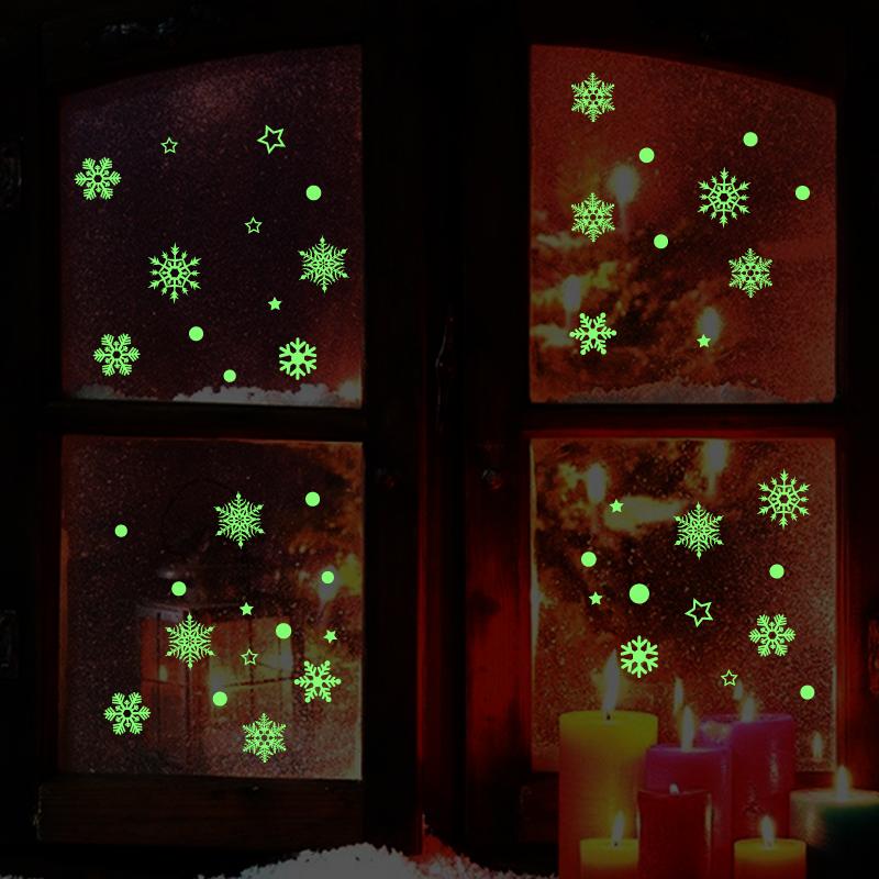 Svítící samolepky snìhové vloèky - zvìtšit obrázek
