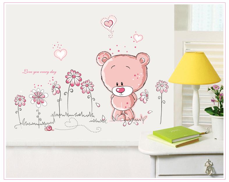 Rùžový medvídek - zvìtšit obrázek