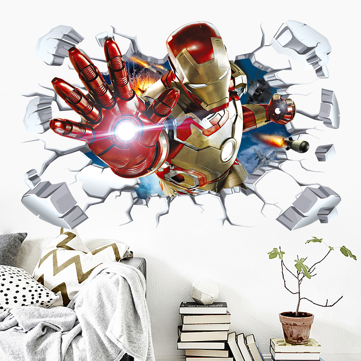 Iron Man ve zdi - zvìtšit obrázek