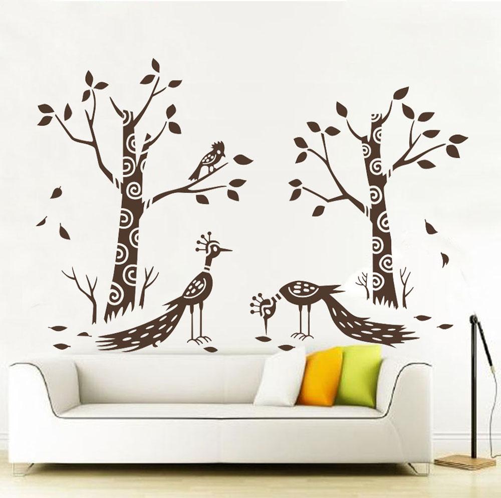 Stromy a pávi