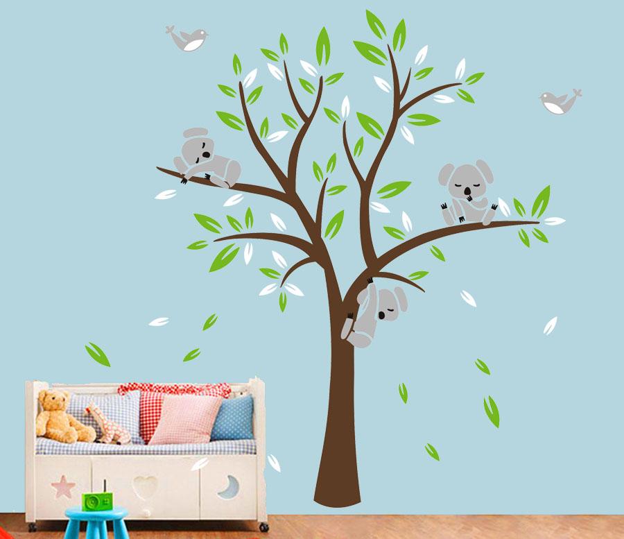 Strom s koalami