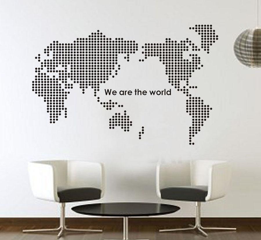 Èerná mapa svìta - zvìtšit obrázek