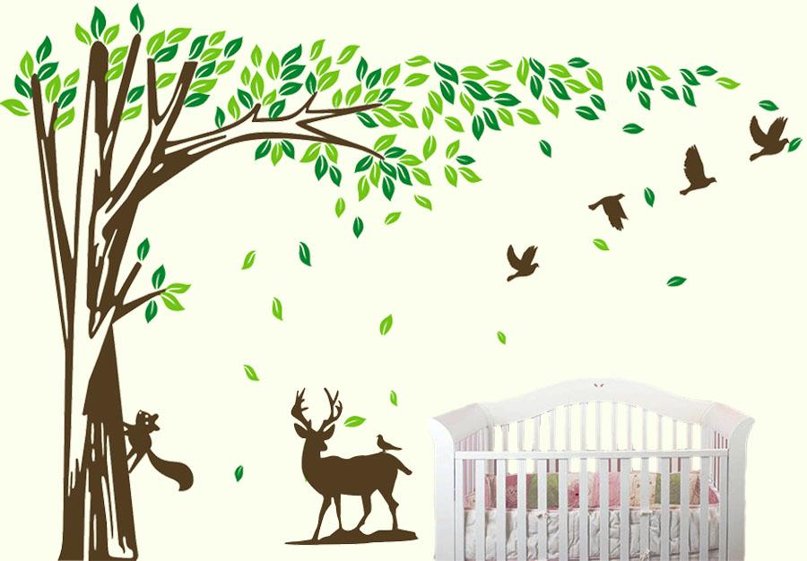 Strom s jelenem
