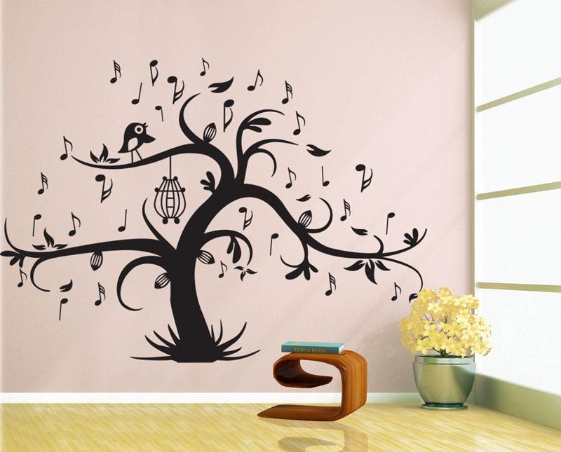 Strom s notami